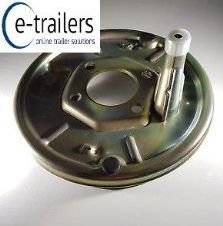 "BOLT ON 200 x 50 8"" BACKPLATE FOR KNOTT AXLE BRAKE SYSTEM IFOR WILLIAMS HORSE BOX"
